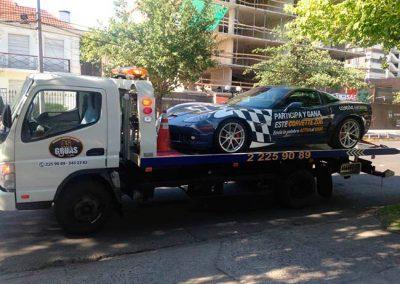 remolque de automóviles